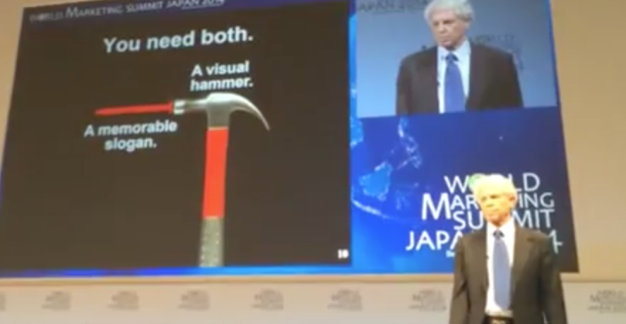 "VIDEO: Al Ries – ""Does Your Company Have a Visual Hammer?"""