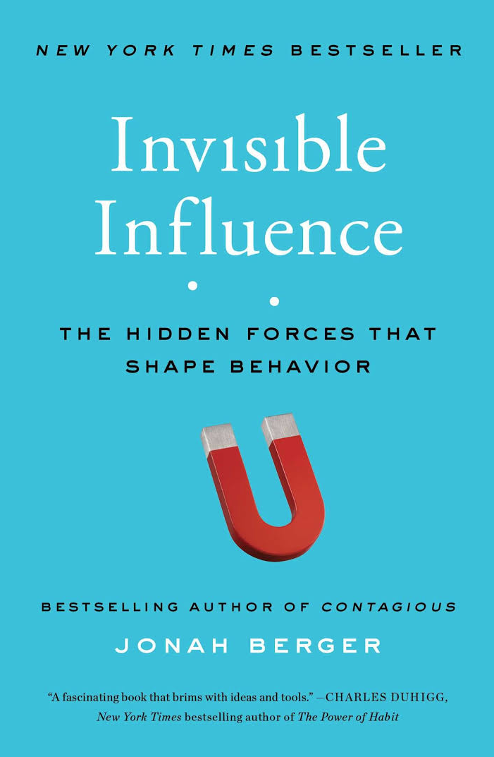 """BOOK REVIEW: """"Invisible Influence: The hidden forces that shape"""
