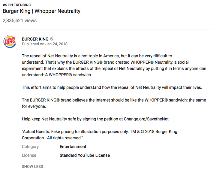 whopper neutrality burger king s fast food activism madison bloom