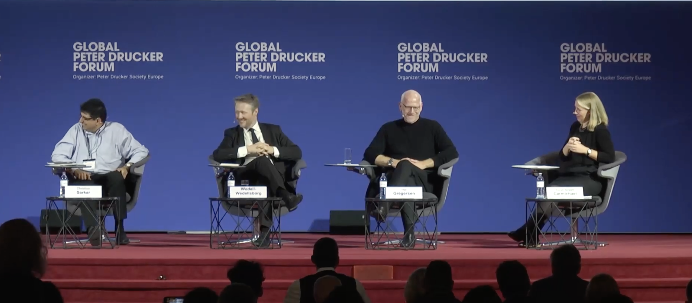 "VIDEO: ""5 Keys to Cross System Problem Solving"" – Panel, Global Peter Drucker Forum"